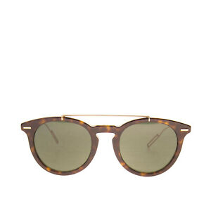 RRP €455 DIOR HOMME Round Sunglasses Glossy Frame Double Keyhole Made in Italy