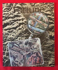 FORTUNE MAGAZINE AUGUST 1943 WONDERFUL COLOR ILLUSTRATIONS AND AD'S
