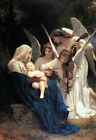 Best Gift HD Print Canvas Adolphe Bouguereau oil painting Angels Art Home Decor