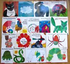 Lot 17 ERIC CARLE Picture Books Secret Birthday Surprise Today Is Monday L3