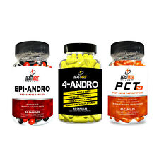 BM labs 4-andro  stack  -  increase strength, endurance, anti cortisol free p&p