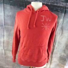 "Jack Wills JW Union Jack orange red Hoodie. 19"" pit-to-pit, 24"" length, Size 12"