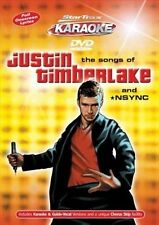 SONGS OF JUSTIN TIMBERLAK NEW DVD
