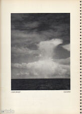 Photogravure  - 1935 - Clouds - Chauncey