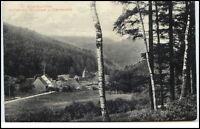1908 Eyachmühle zwischen Wildbad u. Herrenalb Fernansicht Wald Baum Bäume Motive