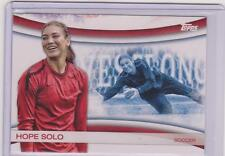 2012 TOPPS OLYMPIC HOPE SOLO SOCCER CARD GAMES OF THE XXX OLYMPIAD #OLY-10
