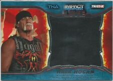 Hulk Hogan 2013 TriStar TNA Impact Live Authentic Memorabilia Silver M6 100/199