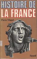 Livre histoire de la France Pierre Miquel book