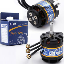 AGM 1180KV Outrunner Brushless Motors Grand Turbo GT2215/09 for RC Plane