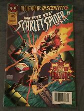Web Of Scarlet Spider #3 - Marvel Comics - Newsstand - 1996 - Comic Book