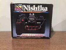 Nishika N8000 35mm 3D Film Camera MINT CONDITION