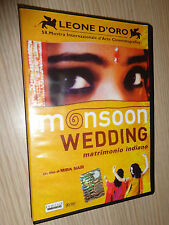 DVD MONSOON WEDDING MATRIMONIO INDIANO UN FILM DI MIRA NAIR SIGILLATO ITA ENG