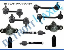 NEW 10pc Front and Rear Suspension Kit for Hyundai Azera Sonata Kia Amanti Sedan
