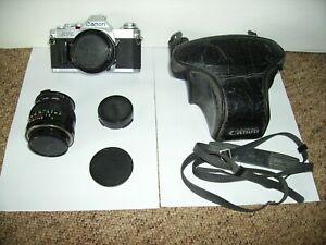 Canon AV-1 Camera