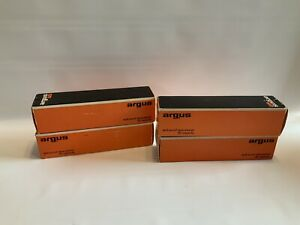 Lot of 4 Vintage Argus 60 spill-proof spacesaver 60 capacity with original boxes