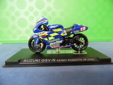 MODELLINO MOTOCICLETTA METALLO-1/24-SUZUKI GSV-R---KENNY ROBERTS JR.