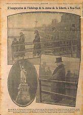 Light Statue de la Liberté Liberty Enlightening the World New York USA 1916 WWI