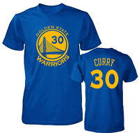 Golden State Warriors Stephen Curry Jersey Men's T Shirt