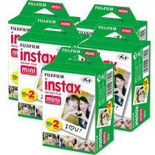Fuji Instax Mini Film for Fujifilm Mini 8 7s & Mini 90, 50 Cameras (100 shots)