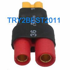 Syma X8C W G Connector Adapter For Imax b RC Female XT30 to FF 3.5mm HXT Banana