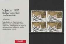PTT Mapje 1982 Nummer 1: 350 Jaar Universiteit Amsterdam