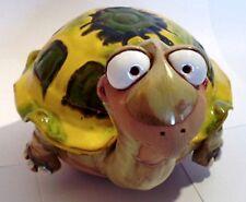 Garten Kugel Keramik Dekoration Figur Schildkröte Handarbeit