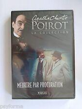 DVD Editions ATLAS HERCULE POIROT Agatha Christie Meurtre par procuration VOL 17