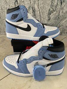 Jordan 1 Retro High White University Blue Black Size 12
