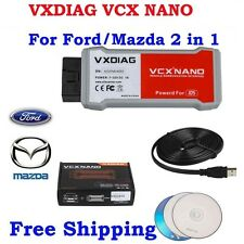 VXDIAG VCX NANO for Fodr/Mazda 2 in 1 with IDS V106 Multi-Languages Update by CD