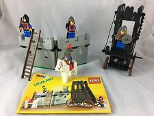 LEGO Castle Lion Knights Siege Tower (6061) Complete w/Instructions 1984