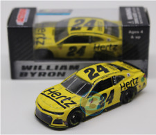NEW NASCAR 2019 WILLIAM BYRON #24 HERTZ 1/64 CAR