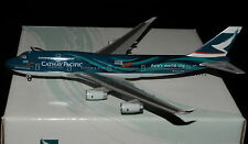 """HERPA WINGS 1/400 B747-400 CATHAY PACIFIC B-HOY """" ASIA'S WORLD CITY """""""
