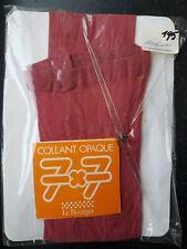 ✔  Collants opaques Le Bourget rouges