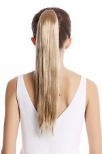 Postiche Tresse Peigne Enfichable & Bandeau Avec Des Cheveux Blond Blond Cendré