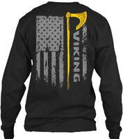 Premium Viking_odin_norse - Viking Gildan Long Gildan Long Sleeve Tee T-Shirt