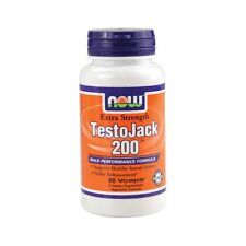 NOW Foods Testojack 200 60 Vcaps Tongkat Ali Maca Root Tribulus Terrestris 09/19