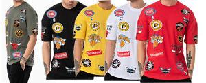NBA All Team Logo T-Shirt Chicago Bulls NY Knicks Basketball Raptors Cavs Raptor