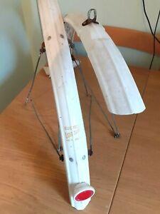 "Set of Bluemel's ""Lightweight"" Plastic Mudguards for 27""/700c, Vintage Bicycle"