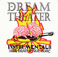 DREAM THEATER 1985-1993 InstruMental II Original CD Rush YYZ Sons of Apollo