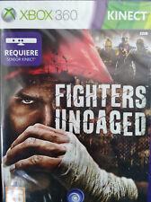 FIGHTERS UNCAGED (REQUIERE KINECT). JUEGO PARA XBOX 360. PAL-ESP.NUEVO, PRECINT.