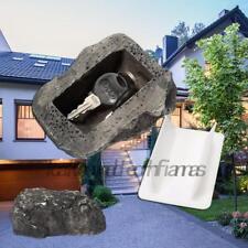 Outdoor Rock Resine Key Safe Box Security Keys Car Or House Keys Hide