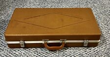 Vintage Doskocil Silhouette Gun Guard Hard Cover Case 26x13x5 With Key