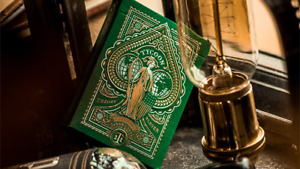 Limited Edition Green Tycoon Playing Cards by Theory 11