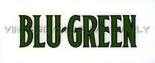 Blu-Green Flat Ad Glass (AG434)