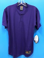 NEW Easton Youth Bio-Dri 100% Polyester Athletic Jersey Shirt Color Purple NWT