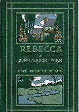 """Rebecca of Sunnybrook Farm"" by Kate Douglas Wiggin - 1903 -   plus Signed Photo"