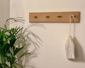 Oak Shaker Peg Rail, Traditional Style, Coat Hooks, Country Home, Scandi Style