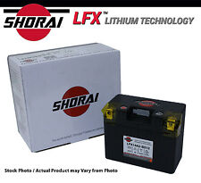 Shorai LFX Lithium Iron ATV Battery Kawasaki KFX450R 2008-2010-2011-2012-2013