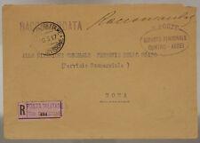 POSTA MILITARE 28^ DIVISIONE 10.3.1917 REPARTO PERSONALE CONTRO AEREI #XP277N
