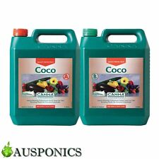 CANNA COCO A&B (2x 5 LITRE BOTTLES) Growth & Bloom Nutrients For Hydroponics